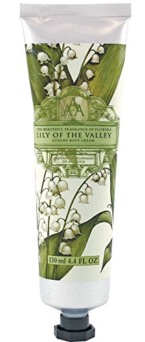 Aromas Artesanales De Antigua Floral Lily Of The Valley Luxury Body Cream 130ml