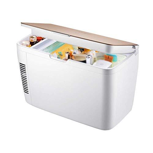 LEILEI 12 L Refrigerador cosmético Productos para el Cuidado de la Piel del hogar Refrigerador pequeño Máscara Caja de Almacenamiento Enfriador Compacto Caja de calefacción y refrigeración del Auto