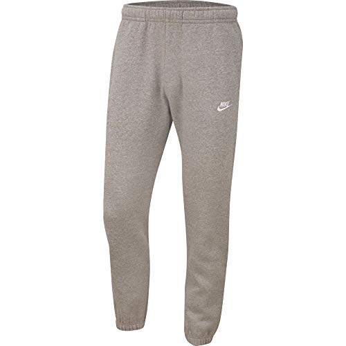 Nike Herren Club Cf Bb Hose, 063 Dk Grey Heather/Matte Silv, L