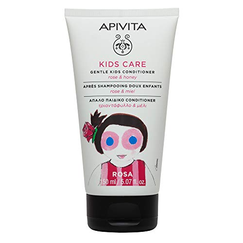 APIVITA KIDS CARE Acondicionador Rosa y miel, 150 ml