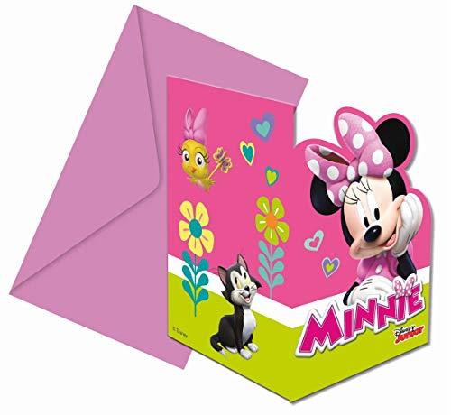 Prezer Minnie Happy Helpers 6 Einladungskarten