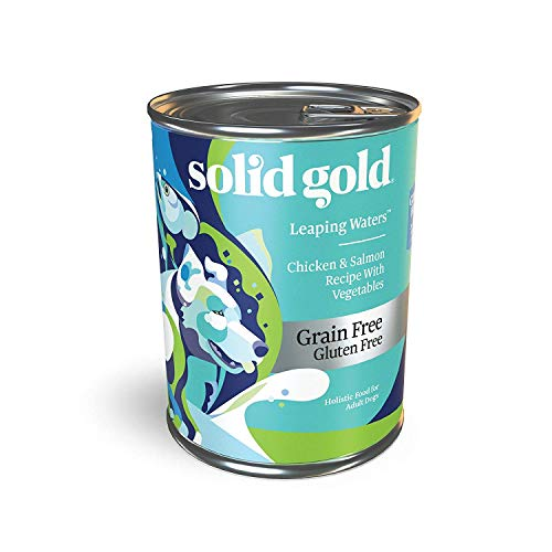 Solid Gold Leaping Waters with Cold Water Salmon