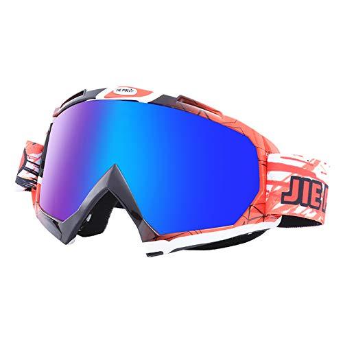ZYQDRZ Gafas De Moto, Espejos De Parabrisas para Motocicletas De Ciclismo, Gafas De Esquí para Hombres Y Mujeres,#4