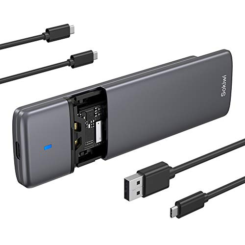 ELUTENG USB 3.1 Gen2 Type C PCIe M.2 SSD Case 10Gbps PCIe NVME Adapter for M-Key NVME SSD 2230//2242//2260//2280 Support UASP M.2 NVME Enclosure