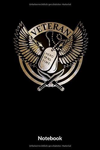 Veteran Hero Of All Time Notebook: A5 Punktraster Notizbuch für Soldaten der Bundeswehr! Als Geschenk zum Jahrestag, Valentinstag, Hochzeitstag oder Weihnachten