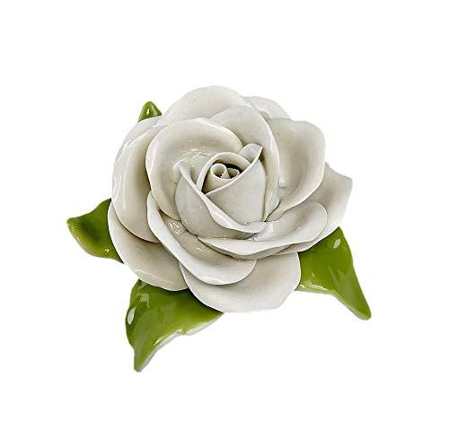 Porcelaine Blanc Table Rose
