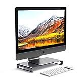 Satechi アルミニウム モニタースタンド 高品質ユニバーサル ユニボディ(ノートパソコン/iMac/PC など対応) (スペースグレイ)