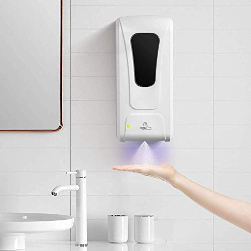 AutoSensing Hand Sanitizer/Soap Dispenser Device  Touchless Hand Clean System Machine  WallMountedWhite