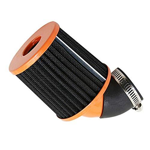 Motodak Filtre à air KN Manchon réglable 35/28 Orange