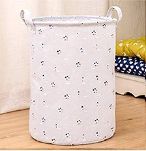 Sierra Nakalara - Cestas de almacenamiento plegables para ropa sucia, caja de juguetes para dormitorio y armario (nube)