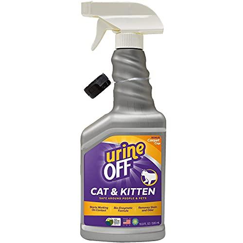 Urine Off Per Gatti, Spray per Superfici Dure, 500ml - Made in USA