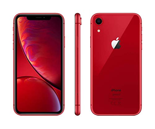 Apple iPhone XR 64GB - (PRODUCT)RED - Desbloqueado (Reacondicionado)