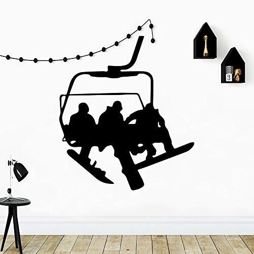 BailongXiao Neue trapez abnehmbare PVC wandaufkleber Wohnzimmer kinderzimmer DIYPVC Dekoration zubehör 50x57 cm