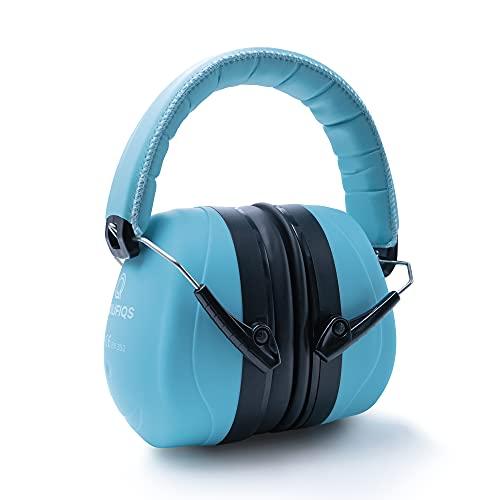 Prolifiqs Gehörschutz für Erwachsene in verschiedenen Farben – getestet bis 98 dB I Lärmschutz Kopfhörer Erwachsene I PVC-freie Lärmschutzkopfhörer für Frauen & Männer I Mint