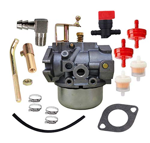 ZHIHUI K341 Carburetor Fit for Kohler Honda K321 K341 Cast Iron 14 hp 16 hp Engine Portable for Club Cadet 1600 1650 John Deer 316 Replace 45-053-55,4505355,45-053-55-S Gas Engine