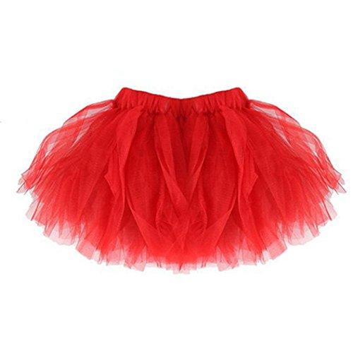 K-youth tutú niña, Vestidos de Fiesta para niñas Tutu Bebe niña Tutu Ballet niña Tulle Ballet tutú Falda niñas Falda de Tul tutú clásica de Ballet para Disfraz Fiesta