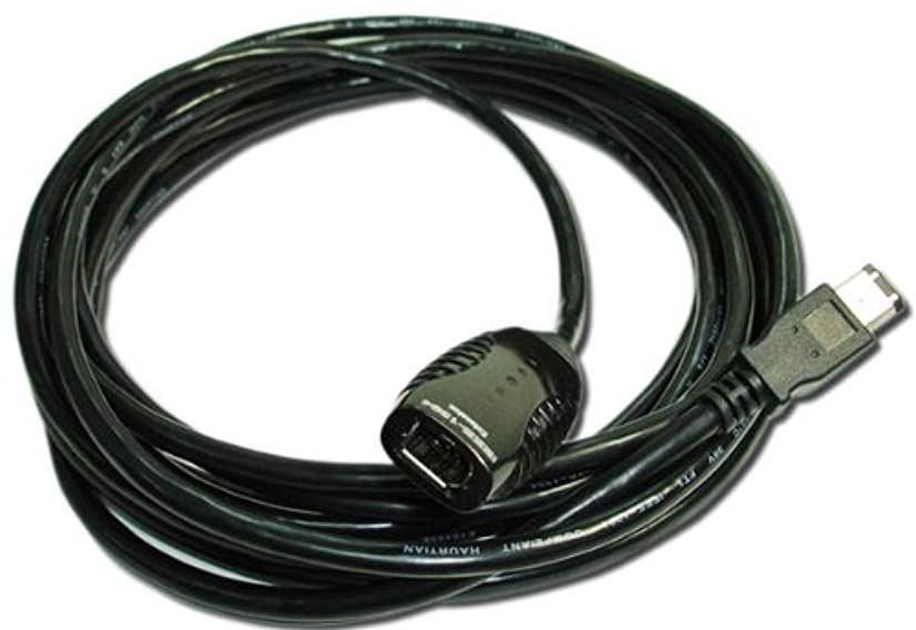 PCCables Firewire Repeater Cable 5 Meter, IEEE-1394a Extension Cable