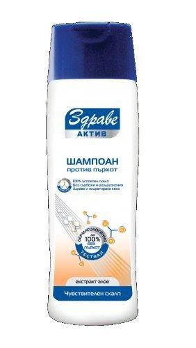 Santé Active – Shampooing antipelliculaire Cuir Chevelu sensibles à l'extrait de l'aloe 200 ml