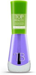 Esmalte New Top Beauty 9Ml Tratamento - 007 - Verniz Secagem Rapida, Top Beauty