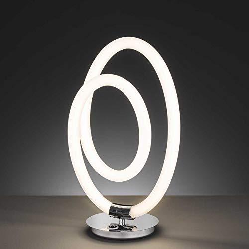 WOFI MIRA Lámpara de mesa, chrom