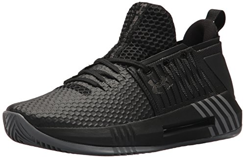 Under Armour Herren UA Drive 4 Low Basketballschuhe, Schwarz (Black 002), 45 EU