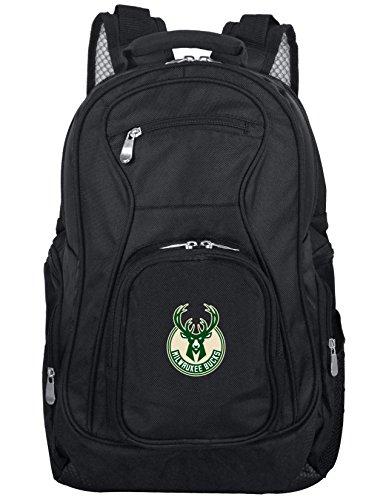 Denco NBA Voyager 19u0022 Laptop Backpack, Black