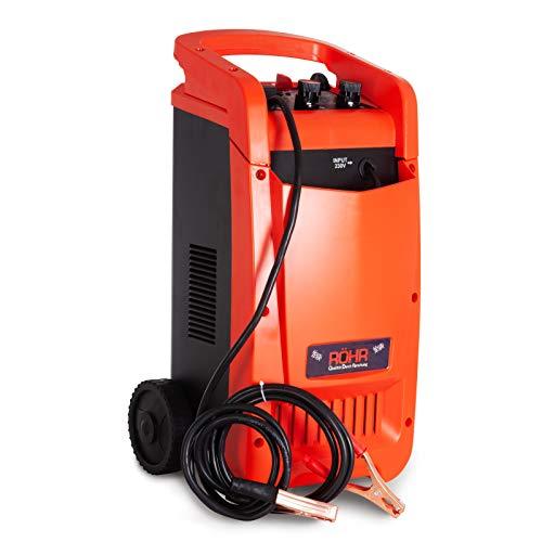 Röhr DFC-650P Caricabatterie Manutentore per Auto de 100A - modalità Turbo e Lento - Tecnologia di Riparazione - 12V/24V