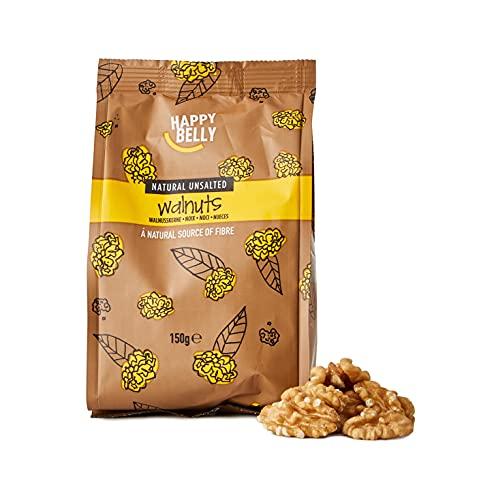 Amazon Marke - Happy Belly Walnüsse, 7x150 g