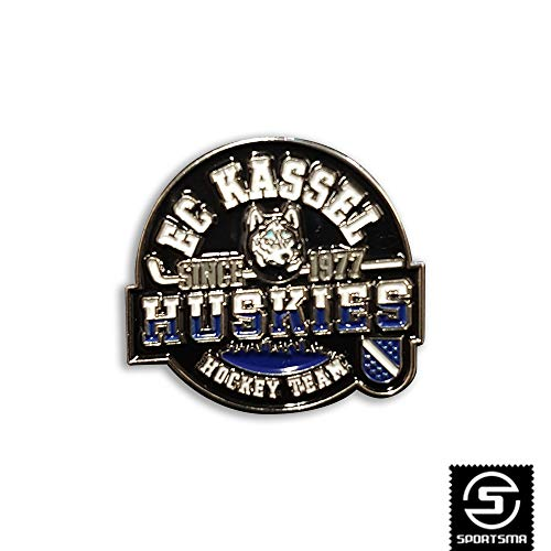 SPORTSMA Kassel Huskies Button Anstecker Pin Ansteckpin Eishockey Fanartikel