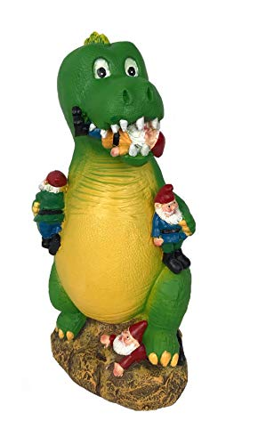 YESY Funny Gnome Garden Gnome, Garden Decoration, Playtime Garden Gnome, Outdoors Statue and...
