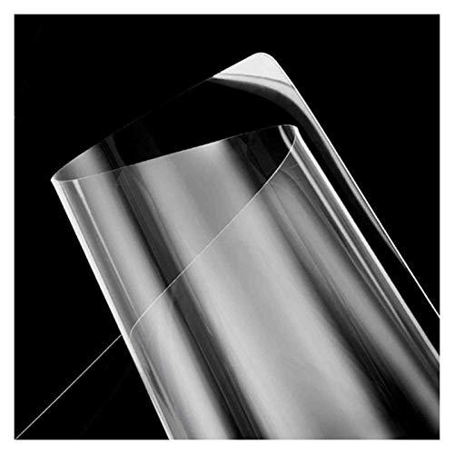 ZENGAI Transparente TPU Protector de Cubierta de Mesa Alfombrilla de Escritorio, Rectangular Tarea Pesada Alfombrilla para Silla para Uso de Oficina en casa (Color : 1.5mm, Size : 0.5mx1.2m)