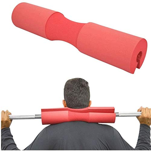 ZYLD Squat Barbell Pad, Supports Squat Bar Weight Lifting Pull Up Gripper Neck Shoulder Protective Pad, Sponge Gym Fitness Weight Lifting Barbell Pad Support for Squats, Lunges & Hip Thrusts