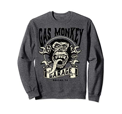 Gas Monkey Garage Wrench Cross Logo Sweatshirt