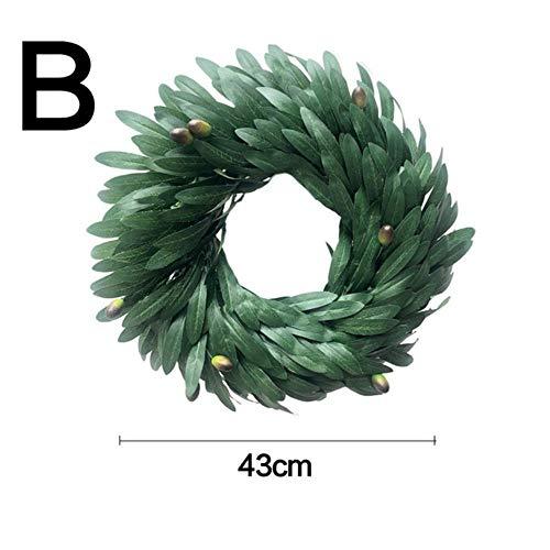 SYART kunstmatige Eucalyptus bladeren Wijnstok nep groen slinger groen blad DIY krans voor bruiloft partij decoratie Thuis tafel Decor
