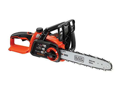 BLACK+DECKER 36 V Lithium-Ion Chainsaw, Bare Unit, 30 cm (Battery not...
