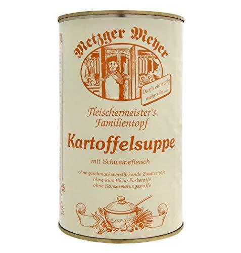 Kartoffelsuppe, hausgemachter Kartoffeleintopf der Suppen-Genuss für groß & klein im 6er Pack / eine Büchse mit je 1200ml