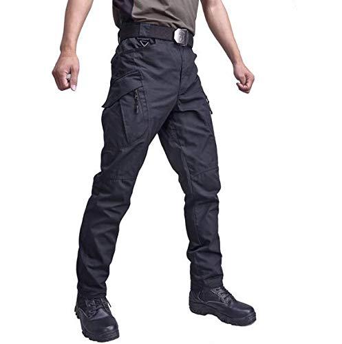 Andiwa Pantalones tácticos de senderismo para hombre, pantalones de trabajo de verano, pantalones de carga Ripstop, ligeros EDC para caminar al aire libre