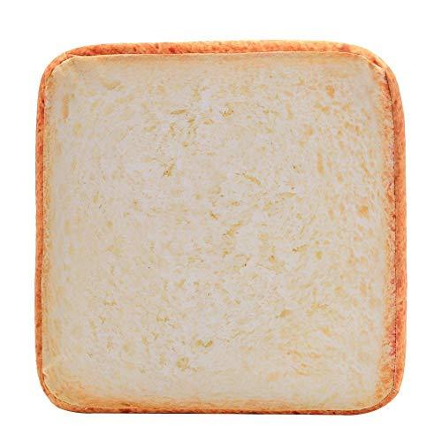 Ogquaton Toast disco pan forma de peluche esponjas relleno gato perro Pet Mat cojín – 40 * 40 * 6,5 cm caso nuevo liberado