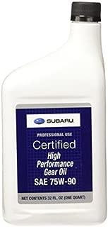 Subaru SOA427V1700 OEM High Performance Gear Oil(75W90-1 Quart)