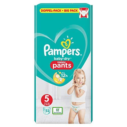 Pampers Baby-Dry Pants Größe5, 52Windeln