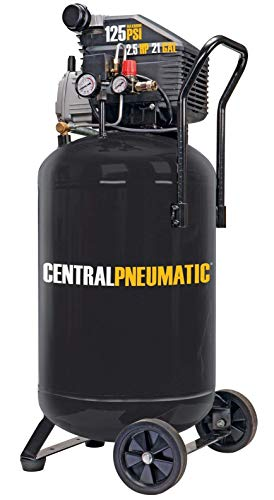 Central Pneumatic 2.5 Horsepower Vertical Air Compressor
