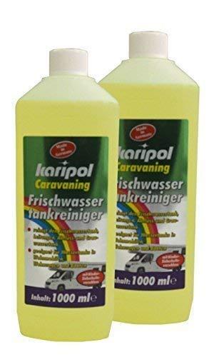 2 x 1000 ml Frischwassertankreiniger, Wassertank, Frischwasser, Desinfektion