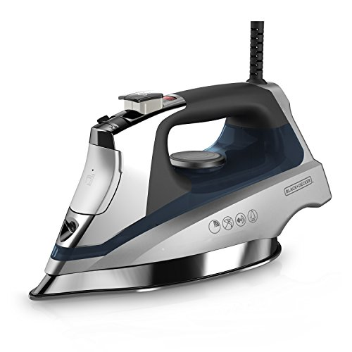 BLACK + DECKER Plancha Allure, Allure Iron, Azul, 1