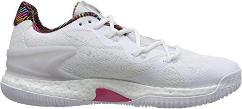 adidas Crazy Light Boost 2018, Chaussures de Basketball Homme, Blanc (Ftwwht/Greone/Grethr...