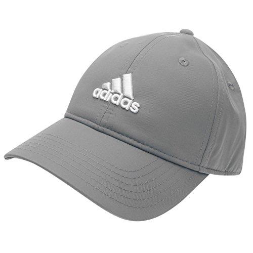 Adidas Golf Tennis Cap Schirmmütze grau-weiss UV 50 verstellbar