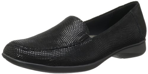 Trotters Women's Jenn Mini Loafer,Black,6 M US