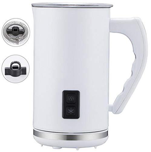 ALK Elektrischer Milchaufschäumer, Abnehmbarer Milchkrug, Mit Funktionen Für Heiße Und Kalte Milch Geräuschloser Betrieb, 500W