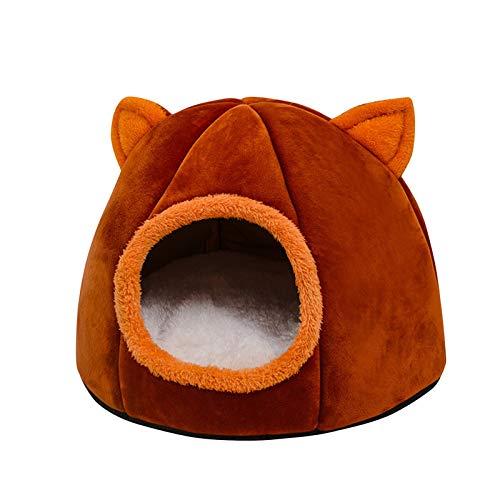 DreamedU Gato Cueva de Mascotas Cama Cueva de Gato para Gatos Gatitos Mascotas, Casa para Gatos Interior, Cama para Gatos/Perros Pequeños/Animal Doméstico