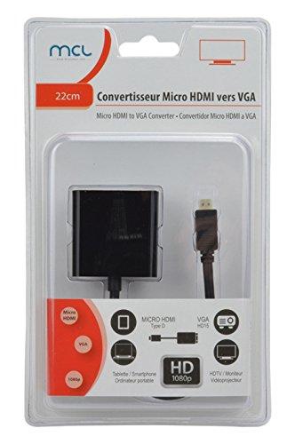 Tikoo CG-286C - - conversor de vídeo micro hdmi/vga