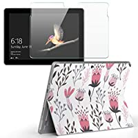igsticker Surface Go/Surface Go 2 専用スキンシール ガラスフィルム セット 液晶保護 フィルム ステッカー アクセサリー 保護 050376